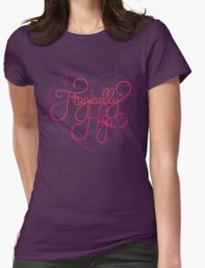 love hip Womens Fitted T-Shirt