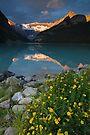 Lake Louise at sunrise by Eivor Kuchta