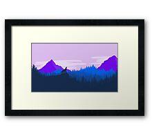 Wolf Dawn Framed Print