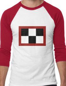 Yume Nikki - Madotsuki's Symbol (Black) Men's Baseball ¾ T-Shirt
