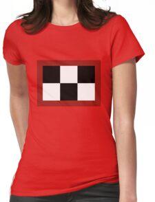 Yume Nikki - Madotsuki's Symbol (Black) Womens Fitted T-Shirt