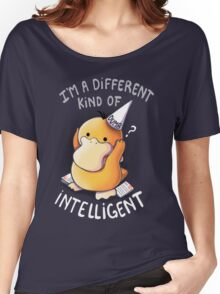 Dumb but Intelligent Women's Relaxed Fit T-Shirt