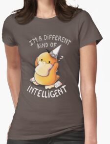 Dumb but Intelligent Womens Fitted T-Shirt