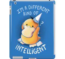 Dumb but Intelligent iPad Case/Skin
