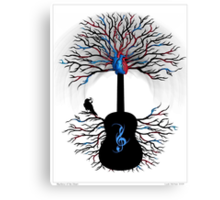 Rhythms of the Heart ~ Surreal Guitar Canvas Print