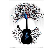 Rhythms of the Heart ~ Surreal Guitar Photographic Print