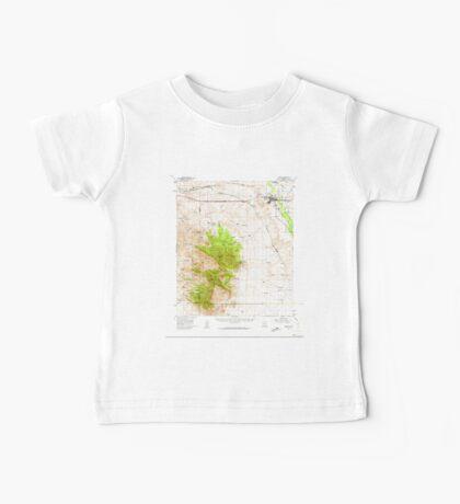 USGS TOPO Map Arizona AZ Benson 314363 1958 62500 Baby Tee