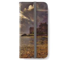 Sunset and Storm 1(Eilean Donan Castle) iPhone Wallet/Case/Skin