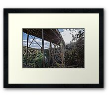 Midgley Bridge Framed Print