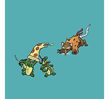 Rowdy Turtles Photographic Print