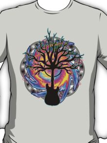 """Psychedelic Sonic Cyclone""   ( surreal guitar art) T-Shirt"