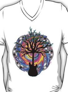 """Psychedelic Sonic Cyclone""   ( surreal guitar tree art) T-Shirt"