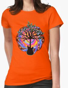 """""""Psychedelic Sonic Cyclone""""   ( surreal guitar tree art) T-Shirt"""