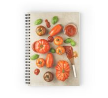Tomatoes for tomato ketchup Spiral Notebook