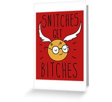 S get B Greeting Card