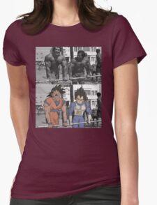Arnold/Franco - Goku/Vegeta Womens Fitted T-Shirt
