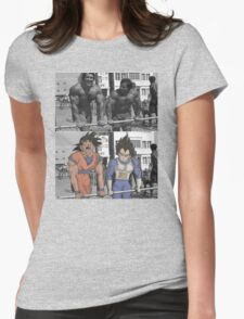 Arnold/Franco - Goku/Vegeta Womens Fitted T-Shirt