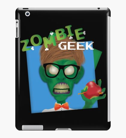 Zombie Geek iPad Case/Skin