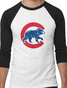cubs chicago Men's Baseball ¾ T-Shirt