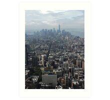 New York Rooftops Art Print