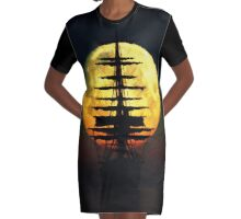 Pirates Of The Blood Moon Graphic T-Shirt Dress