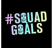 #SquadGoals Photographic Print