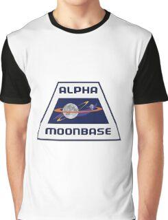 Space 1999 Alpha Moonbase crest Graphic T-Shirt