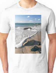 Wategos beach in Byron Bay Unisex T-Shirt