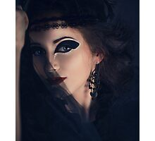 Gothic woman style  Photographic Print