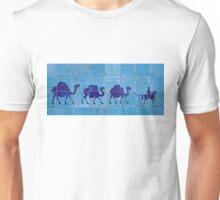 Silk Road Tile Camels, Khiva Unisex T-Shirt