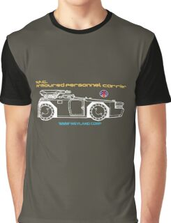 Aliens Armoured Personnel Carrier Graphic T-Shirt