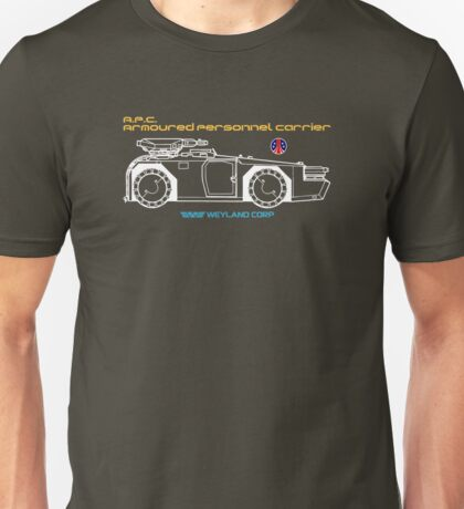 Aliens Armoured Personnel Carrier Unisex T-Shirt