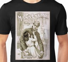 Performing Arts Posters The big scenic production Mans enemy by Chas A Longdon Eric Hudson now in its 4th year in England 1306 Unisex T-Shirt