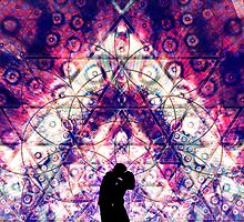 """""""Young Love"""" - visionary art by Leah McNeir"""