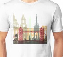 London skyline poster Unisex T-Shirt