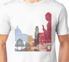 Hong Kong skyline poster Unisex T-Shirt