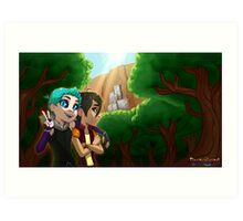Forest Banner Art Print