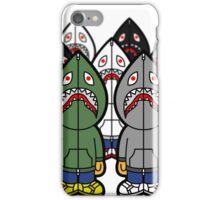 bape shark cartoon 2 iPhone Case/Skin