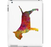 Bull Terrier in watercolor iPad Case/Skin