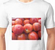 A pile of luscious bright red tomatoes Unisex T-Shirt