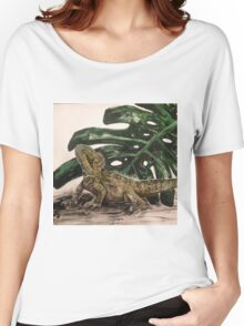 Water Dragon by Liz H Lovell Women's Relaxed Fit T-Shirt