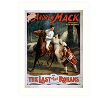 Performing Arts Posters The singing comedian Andrew Mack in the The last of the Rohans by Ramsay Morris 2026 Art Print