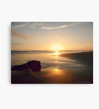 SUNSET . PANTONE MAUVE Canvas Print