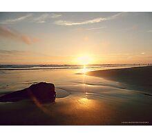 SUNSET . PANTONE MAUVE Photographic Print