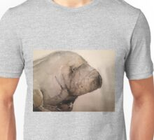 Manatee in watercolour Unisex T-Shirt