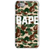 BAPE camo army iPhone Case/Skin