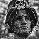 Sculpture in front of the Australian War Memorial (2) by Wolf Sverak