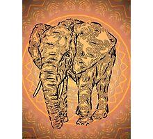 """Elephant Spirit"" version2 ,  Photographic Print"