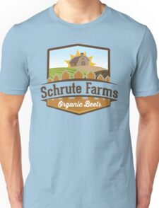 Schrute Farms - Organic Beets - The Office TV Show / Dwight Schrute Inspired Design Unisex T-Shirt