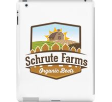 Schrute Farms - Organic Beets - The Office TV Show / Dwight Schrute Inspired Design iPad Case/Skin